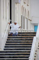 Mosque Steps-Muttrah, Oman