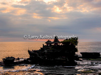 Tanah Lot Temple Sunset-Bali