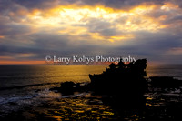 Tanah Lot Temple Sunset II-Bali