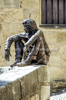 Sitting on a Ledge-Sarlat, France