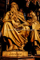 Prophet Jeremiah at the Base of the Pulpit-Basilica   Notre Dame-Montreal