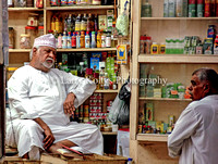 Shopkeeper in the Mutrah Souq-Muttrah, Oman