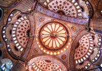 The Blue Mosque Interior Dome-Istanbul, Turkey
