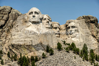 Mount Rushmore Detail-Keystone, South Dakota