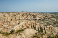 In the Badlands-Interior, South Dakota