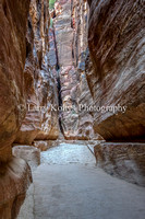 The Passageway at Petra, Jordan