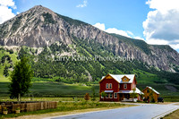 Backyard View of Mt. Crested Butte-Crested Butte, Colorado