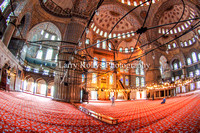 The Blue Mosque Prayer Hall-Istanbul, Turkey