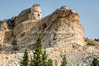 Crazy Horse Monument Front-Crazy Horse, South Dakota