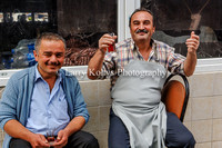 Tea in Poyrazkoy, Turkey