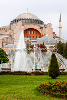 Fountain at the Hagia Sophia-Istanbul, Turkey