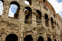 Colosseum Archs-Rome, Italy